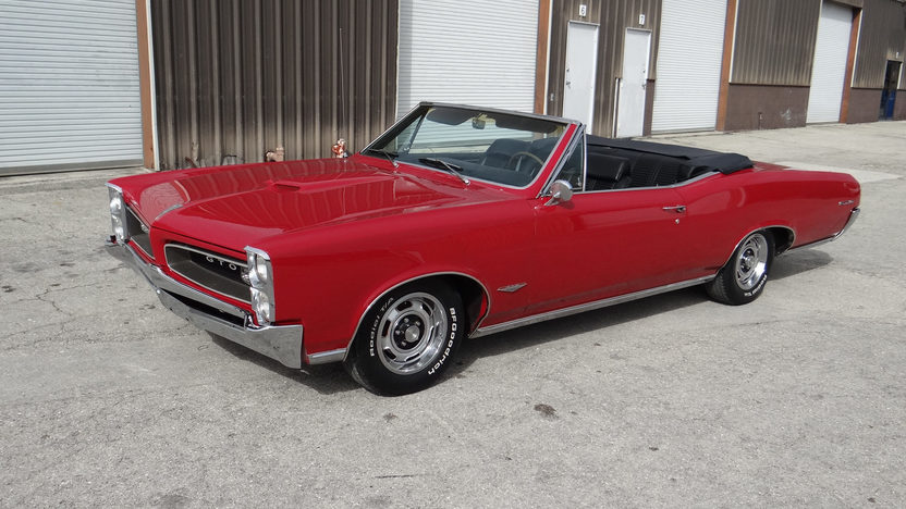 1966 Pontiac GTO Convertible 389 CI, Automatic presented as lot T93 at Kissimmee, FL 2014 - image7
