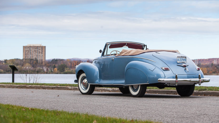 1941 Lincoln Zephyr Convertible V