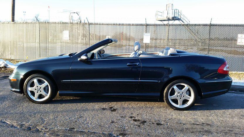 2004 mercedes benz clk500 amg convertible mecum. Black Bedroom Furniture Sets. Home Design Ideas