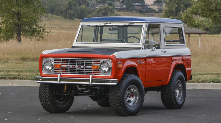 1971 Ford Bronco Stroppe Baja Edition Mecum Kissimmee