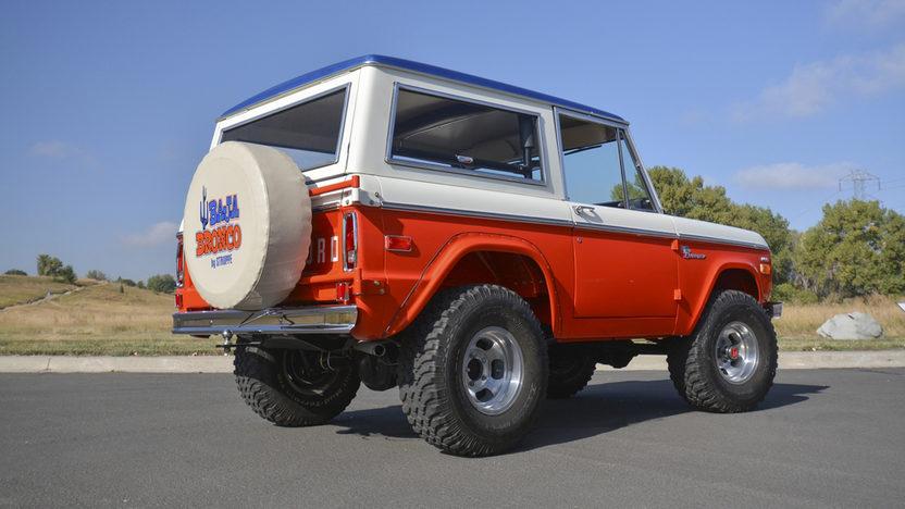 1971 Ford Bronco Stroppe Baja Edition Mecum Kissimmee