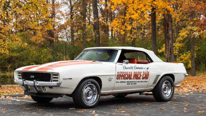 1969 Chevrolet Camaro Rs Ss Pace Car Edition Mecum Kissimmee 2016 F121