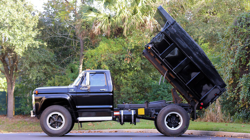 1977 Ford F750 Dump Truck Mecum Kissimmee 2016 K11