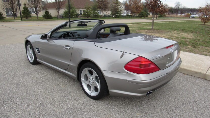 2005 mercedes benz sl500 convertible mecum kissimmee 2016 w165. Black Bedroom Furniture Sets. Home Design Ideas
