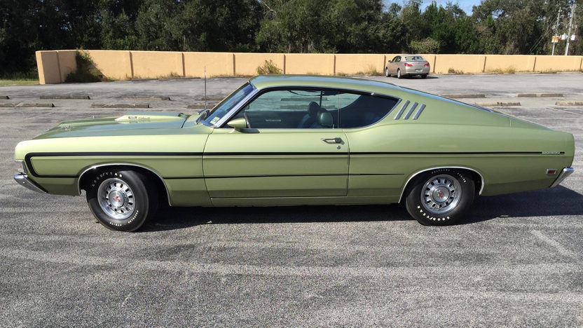 1969 Ford Torino GT Fastback 428 Cobra Jet, Automatic presented as lot ...