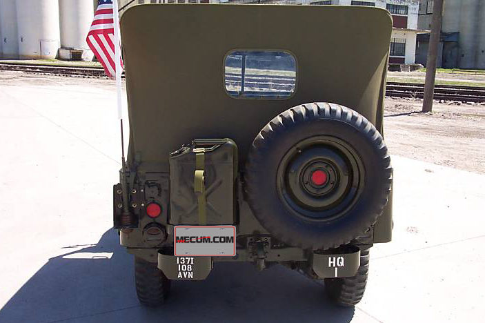 1952 Willys M38 Jeep Complete Restoration presented as lot T89 at St Charles, IL 2012 - image2