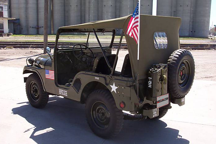 1952 Willys M38 Jeep Complete Restoration presented as lot T89 at St Charles, IL 2012 - image3