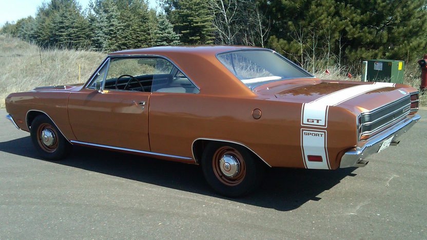 1969 Dodge Dart GTS 340 CI, 4-Speed presented as lot T127 at St Charles, IL 2012 - image6