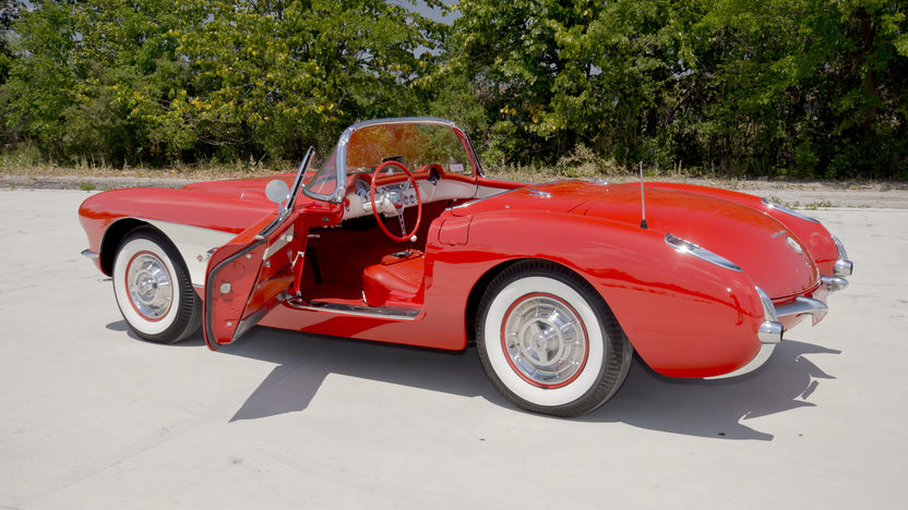 1957 Chevrolet Corvette Fuelie 283/283 HP, Bloomington Gold presented as lot F228 at St Charles, IL 2012 - image11