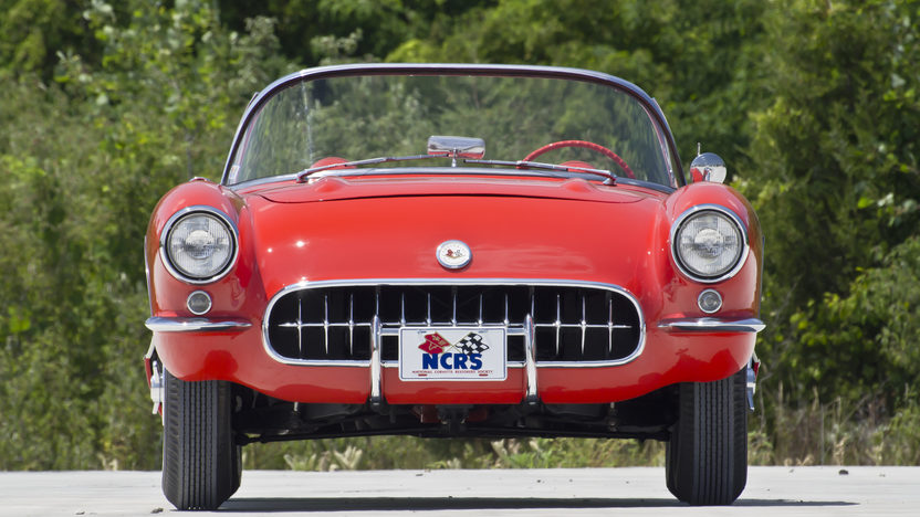 1957 Chevrolet Corvette Fuelie 283/283 HP, Bloomington Gold presented as lot F228 at St Charles, IL 2012 - image3