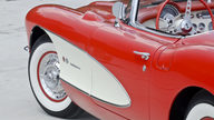 1957 Chevrolet Corvette Fuelie 283/283 HP, Bloomington Gold presented as lot F228 at St Charles, IL 2012 - thumbail image10