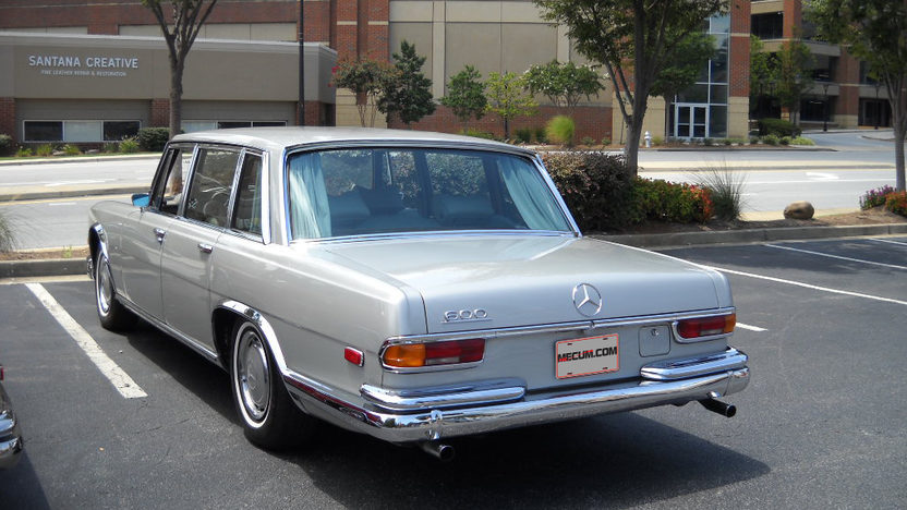 1970 Mercedes-Benz 600 SWB Limousine presented as lot S111 at St Charles, IL 2012 - image2
