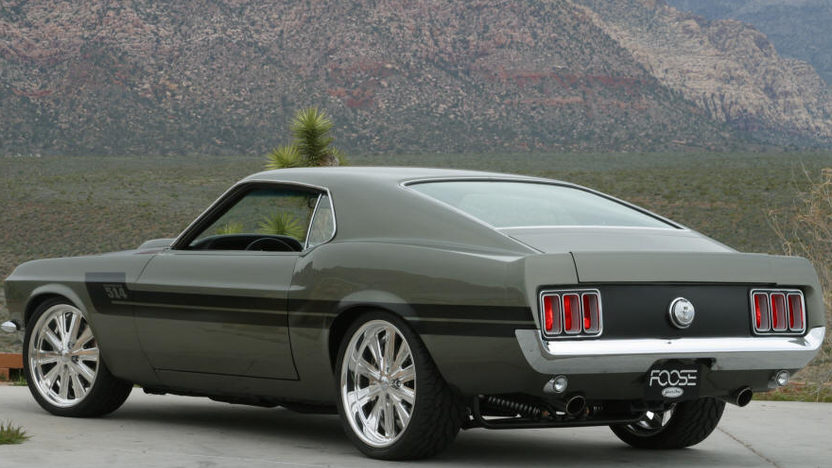 1970 Ford Mustang Fastback Designed by Chip Foose for Overhaulin' presented as lot S128 at St Charles, IL 2012 - image2