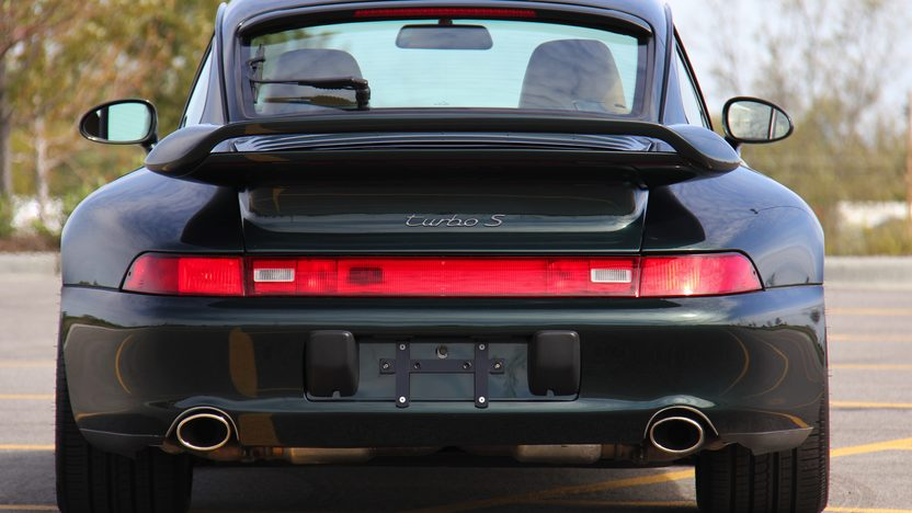 1997 Porsche 911 Carrera Turbo S presented as lot S129 at St Charles, IL 2012 - image2