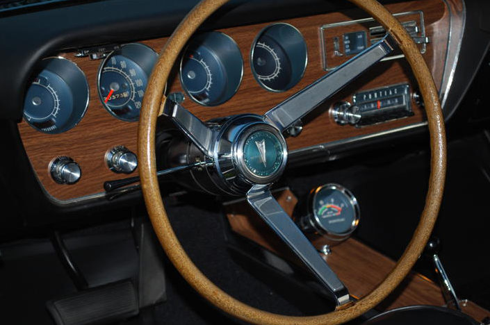 1967 Pontiac GTO Convertible Triple Black, Dual Gate Shifter presented as lot S132 at St Charles, IL 2012 - image5