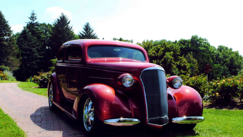 1937 Chevrolet Street Rod 385 CI, Custom Built presented as lot S137 at St Charles, IL 2012 - image8