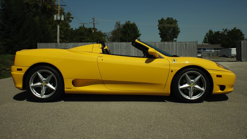 2002 Ferrari 360 Spider F1 Only 1433 Miles presented as lot S139 at St Charles, IL 2012 - image2