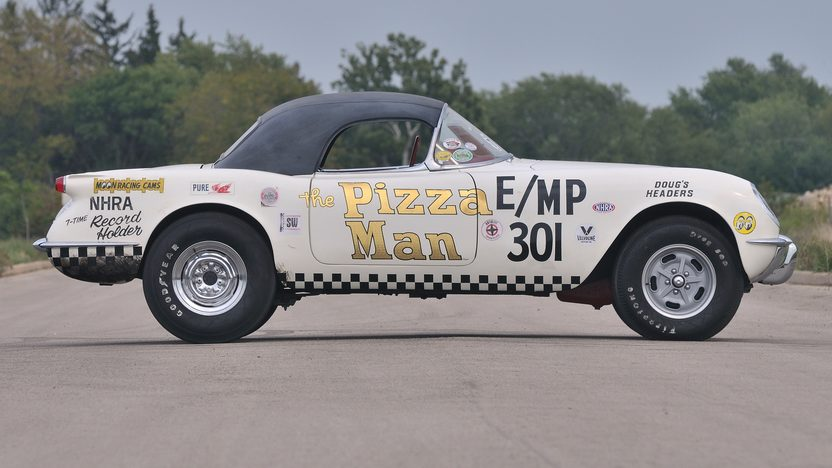 1954 Chevrolet Corvette The Pizza Man 3-Time NHRA World Champion presented as lot S148 at St Charles, IL 2012 - image3