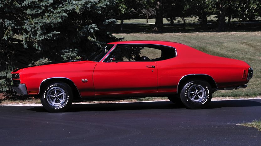 1970 Chevrolet Chevelle SS LS6 454/450 HP, 4-Speed, Two Build Sheets presented as lot S151 at St Charles, IL 2012 - image4