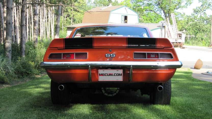 1969 Chevrolet Camaro Resto Mod LS2, Automatic presented as lot S175 at St Charles, IL 2012 - image3