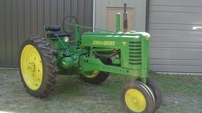 1951 John Deere Model B Styled Tractor