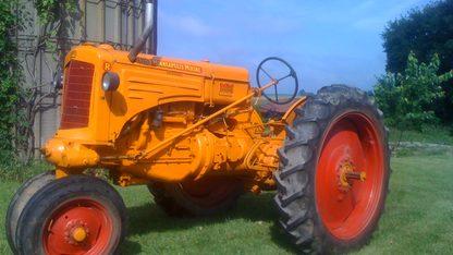 Minneaoplis Moline RTU Tractor