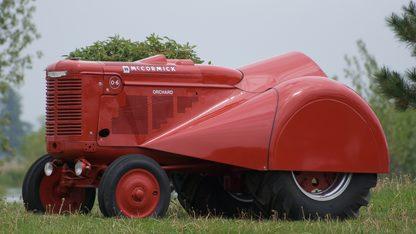 1950 Farmall O-6 Orchard Tractor