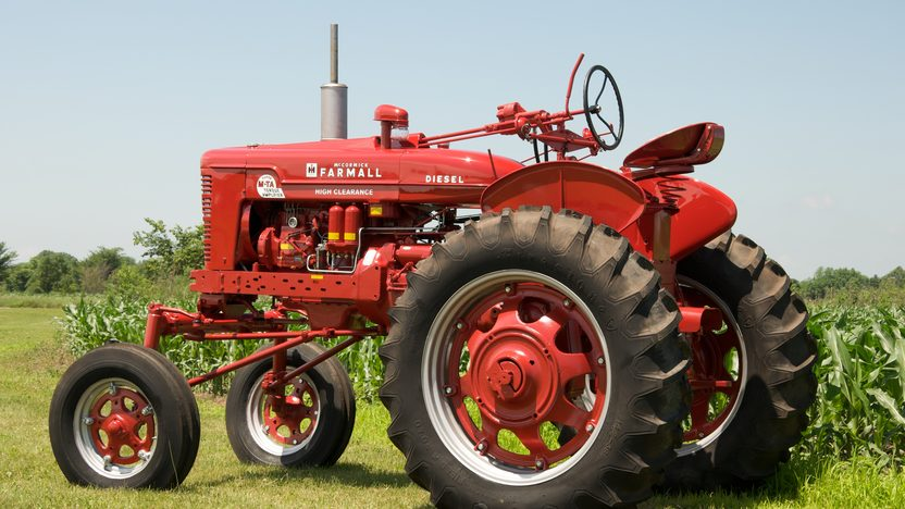 1954 Farmall Super MDV TA Tractor presented as lot S44 at Walworth, WI 2010 - image2