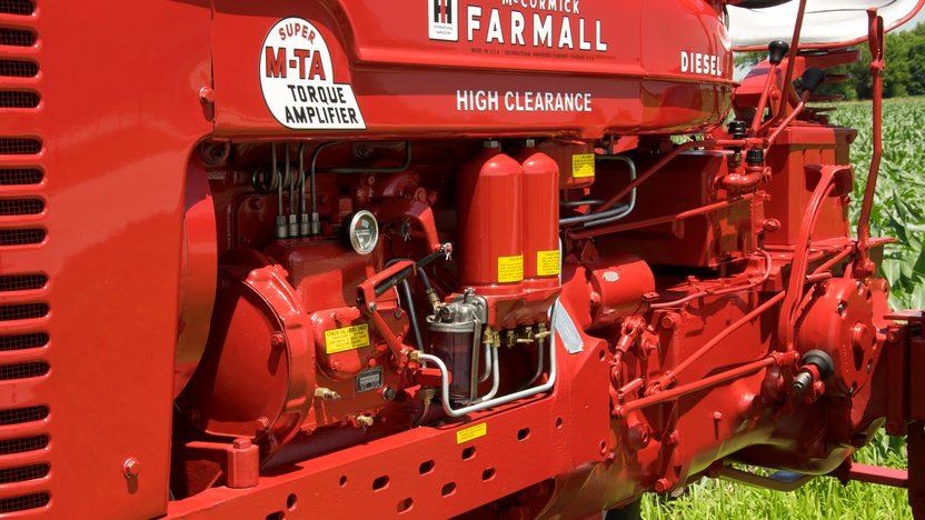 1954 Farmall Super MDV TA Tractor presented as lot S44 at Walworth, WI 2010 - image3