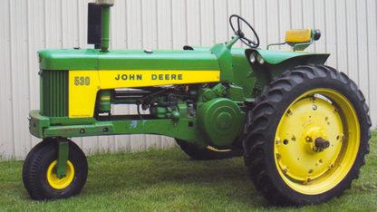 1960 John Deere Veggie Special 530 Tractor