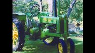 1936 John Deere B Tractor presented as lot S64 at Walworth, WI 2010 - thumbail image2