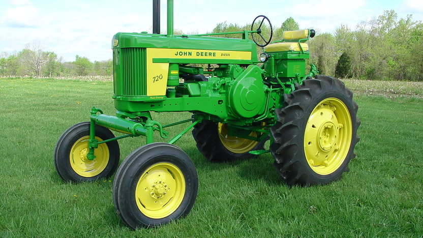 1958 John Deere 720 High Crop presented as lot S55 at Walworth, WI 2011 - image8