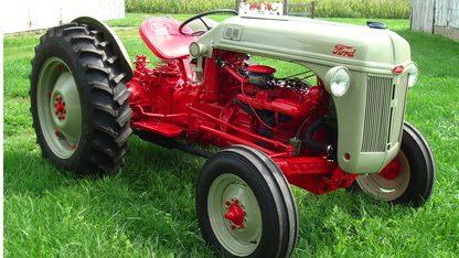 1950 Ford 8N 6 Cyl Funk Conversion
