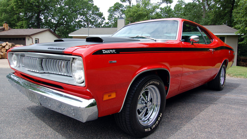 1971 Plymouth Duster Twister 340/275 HP, Automatic presented as lot F11 at Houston, TX 2012 - image8