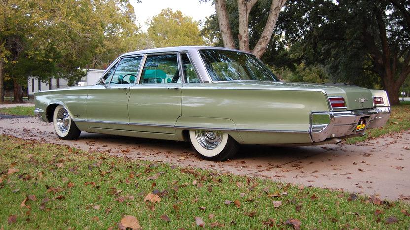 Sterling Mccall Nissan >> 1966 Chrysler New Yorker 4-Door | Mecum Houston 2012 | F12