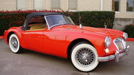 1961 MG A Convertible presented as lot F34 at Houston, TX 2012 - thumbail image3
