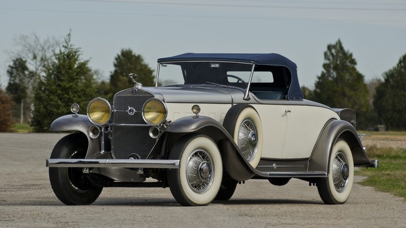 1931 Cadillac V12 Roadster 368 CI, 3-Speed presented as lot S98 at Houston, TX 2012 - image12