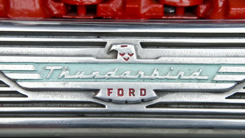 1957 Ford Thunderbird 312/245 HP, Automatic presented as lot S117 at Houston, TX 2012 - image10