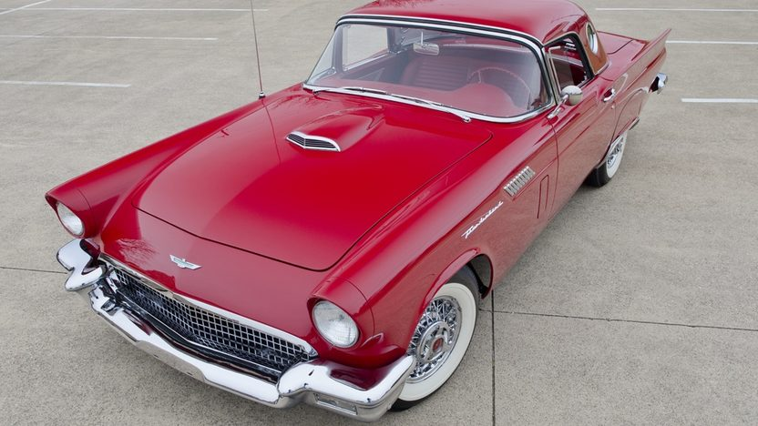 1957 Ford Thunderbird 312/245 HP, Automatic presented as lot S117 at Houston, TX 2012 - image12