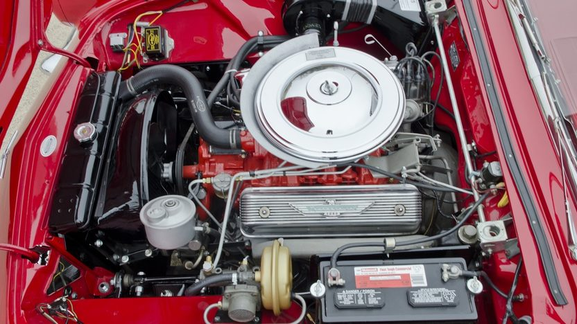 1957 Ford Thunderbird 312/245 HP, Automatic presented as lot S117 at Houston, TX 2012 - image7