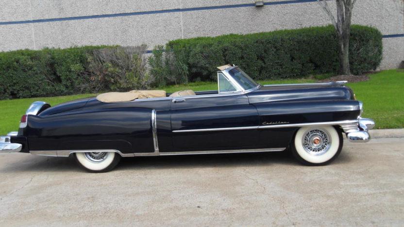 1952 Cadillac Convertible Mecum Houston 2012 S107