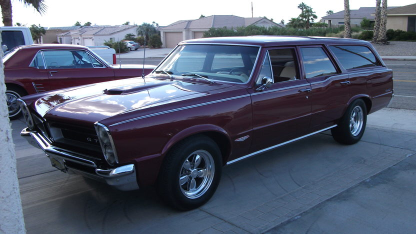 1965 Pontiac Gto Station Wagon Mecum Houston 2012 F349
