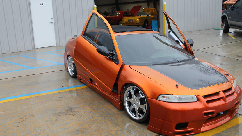 1996 Plymouth Breeze Sedan Nitrous System, Custom Paint presented as lot T14 at Houston, TX 2013 - image8