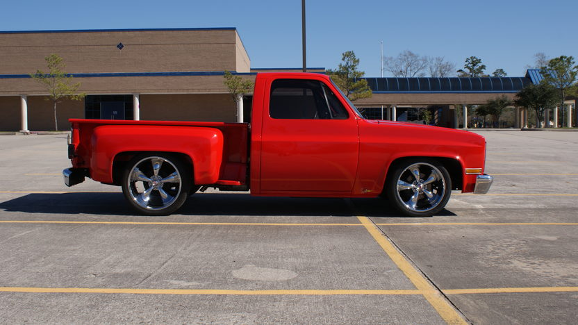 1982 Chevrolet C10 Pickup 350 CI, Automatic presented as lot T325 at Houston, TX 2013 - image2