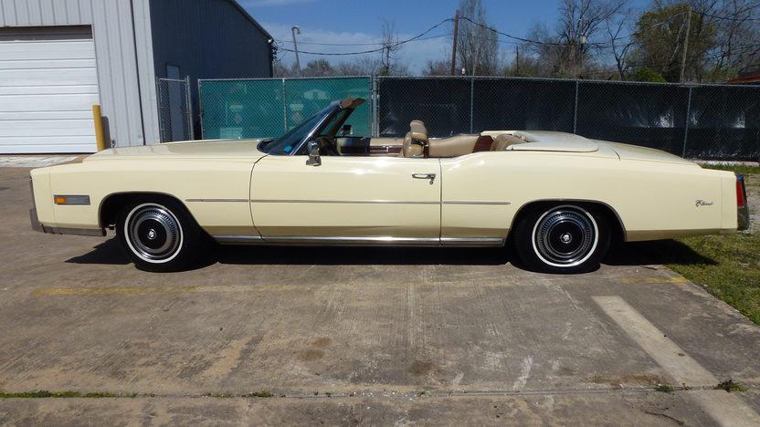 1976 Cadillac Eldorado Convertible 500 CI, Automatic presented as lot T27 at Houston, TX 2013 - image2