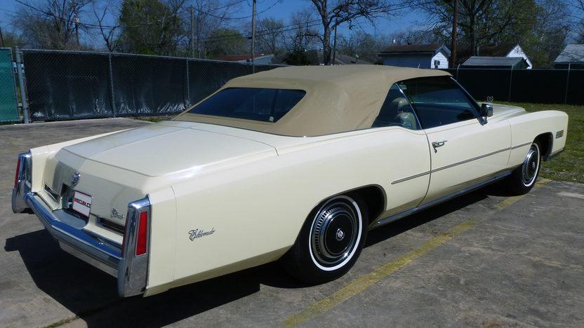 1976 Cadillac Eldorado Convertible 500 CI, Automatic presented as lot T27 at Houston, TX 2013 - image3