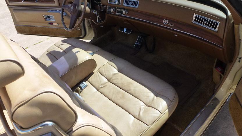 1976 Cadillac Eldorado Convertible 500 CI, Automatic presented as lot T27 at Houston, TX 2013 - image5