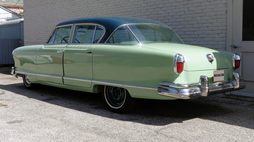 1951 Nash Ambassador Farina presented as lot T37 at Houston, TX 2013 - image10