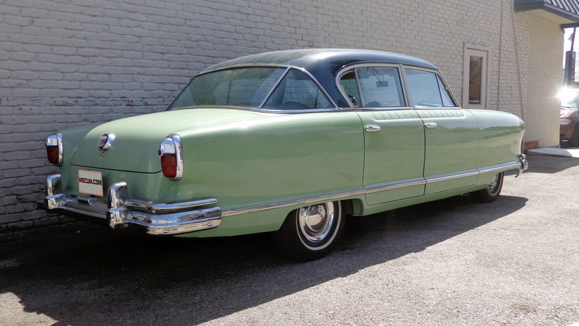 1951 Nash Ambassador Farina presented as lot T37 at Houston, TX 2013 - image2