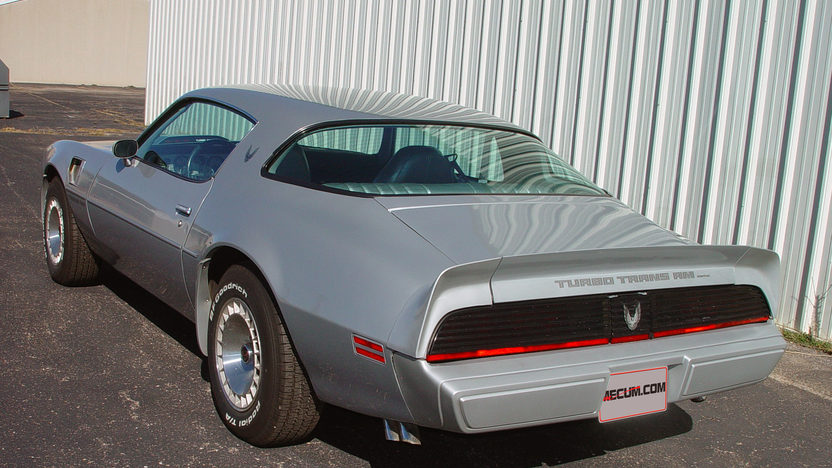1981 Pontiac Trans Am Turbo 4.9L, WS6 Package presented as lot T60 at Houston, TX 2013 - image2